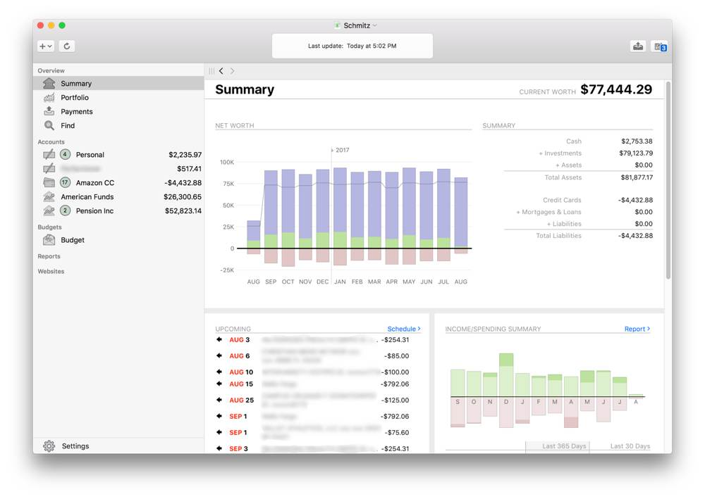 financial software for mac and windows
