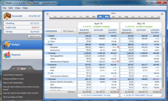 mac finance software review