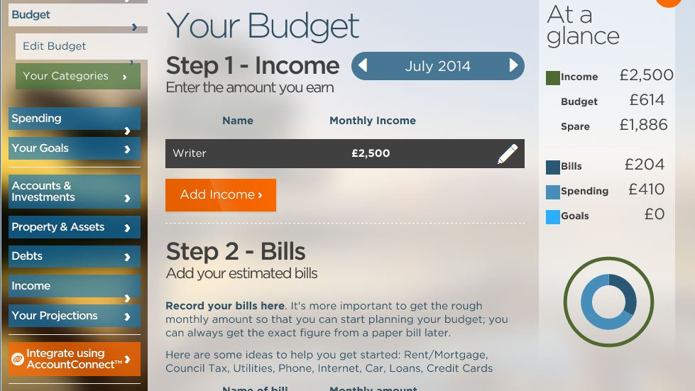 Online personal finance software   Personal Financial